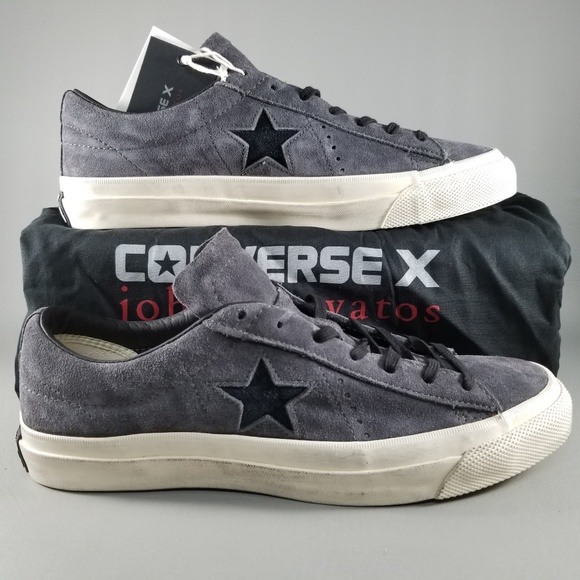 0ff6975b49ef Converse X John Varvatos One Star Ox Sneakers Gray